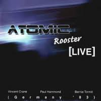 ATOMIC ROOSTER - Live In Germany cover